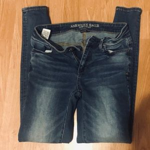 American Eagle Super Stretch Jegging size 4